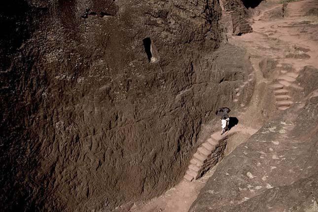 Lalibelai sziklatemplomok