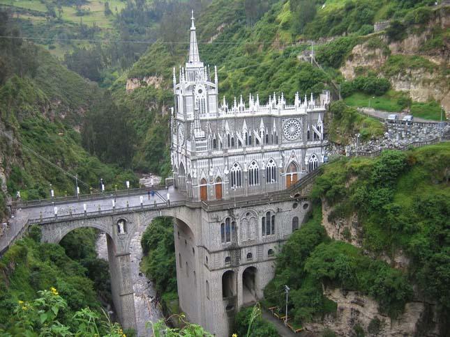 Las Lajas katedrális, Kolumbia
