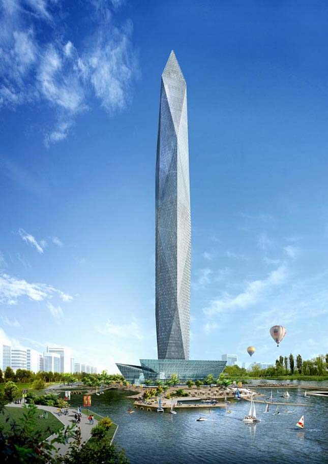 Infinity Tower, Dél-Korea