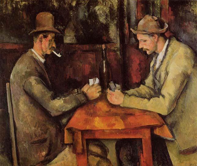 Paul Cézanne - Kártyajátékosok