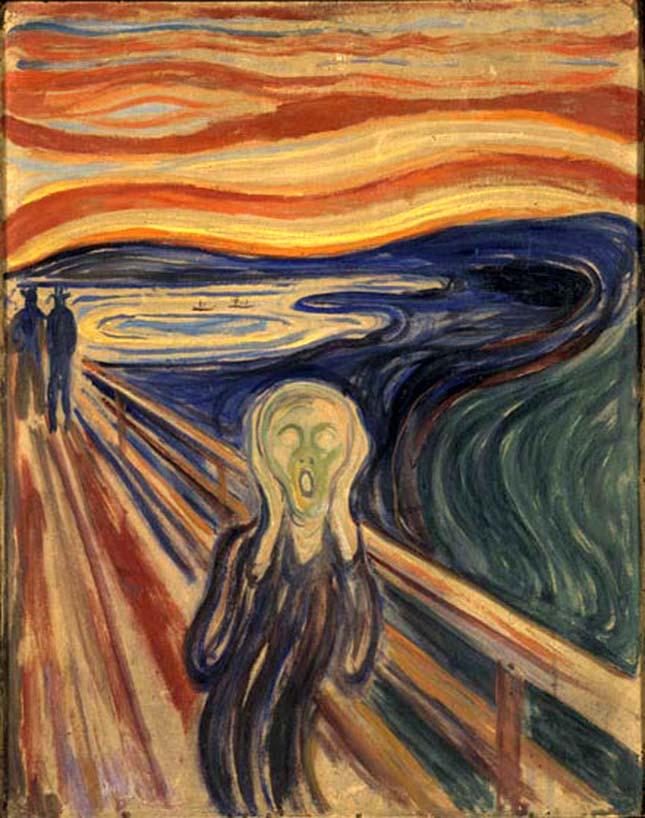 Edvard Munch - Sikoly