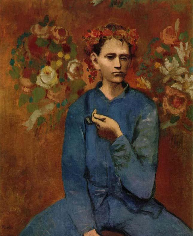Pablo Picasso - Fiú pipával
