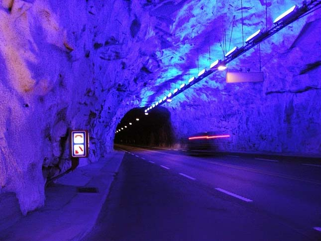 Leghosszabb közúti alagút