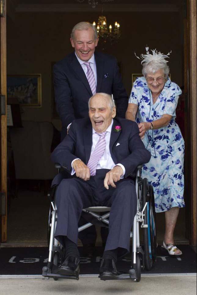 103 évesen vette el 91 éves szerelmét