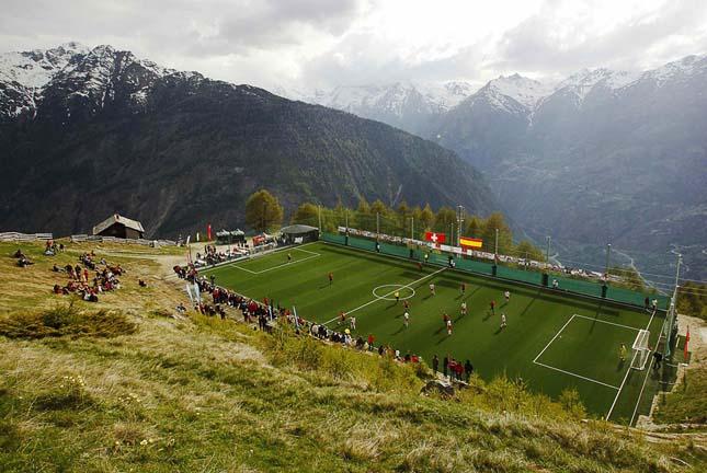 A legkülönlegesebb stadionok és sportpályák