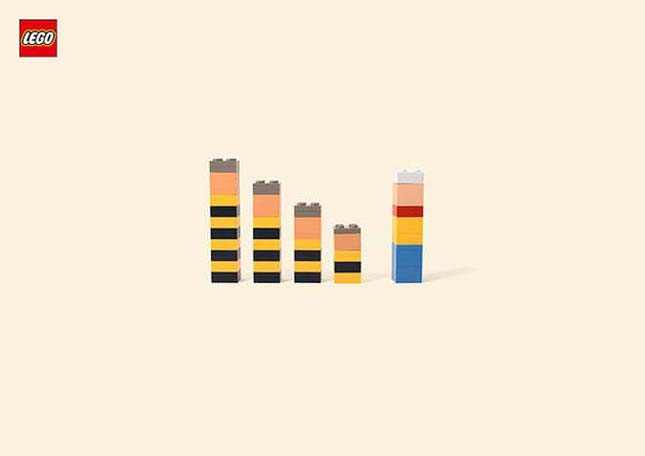 Rajzfilmfigurák LEGO-ból