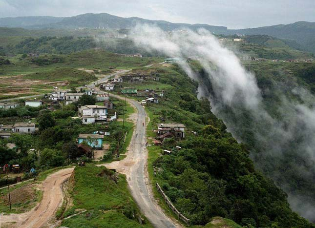A világ legpárásabb faluja Indiában