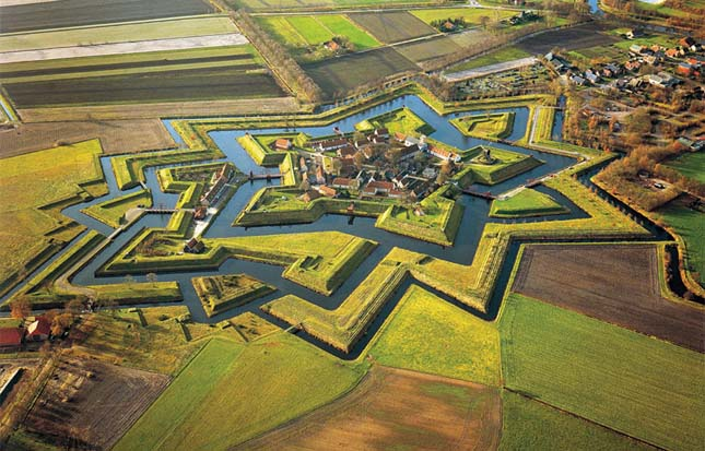 Fort Bourtange, Hollandia
