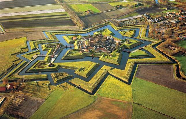 Fort Bourtange, Hollandia