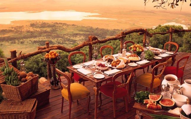 Ngorongoro kráter terasz, Tanzánia