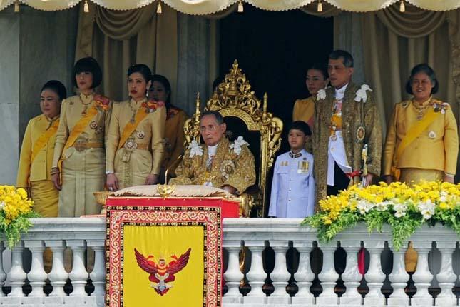 Legtöbb ideje trónon lévő uralkodók