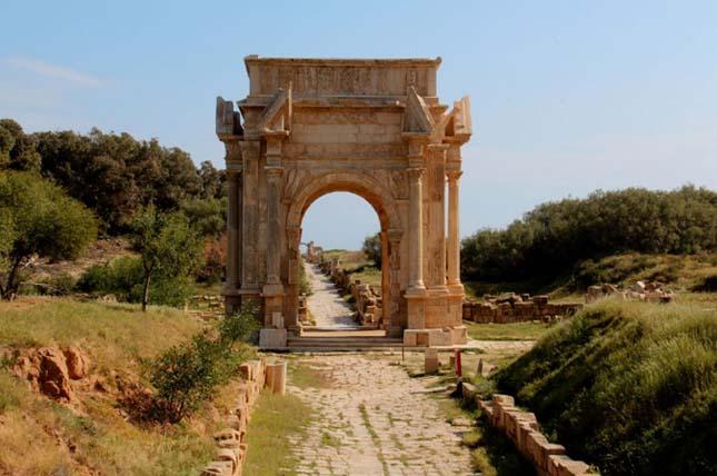 Leptis Magna, Líbia romvárosa