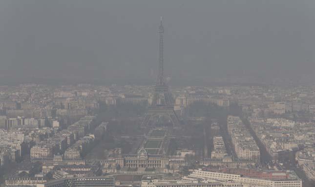 Levegőszennyezés Európában