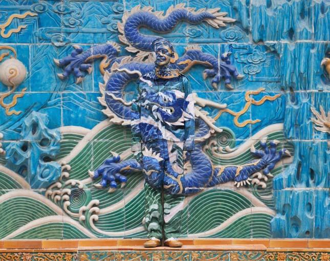 Liu Bolin, a láthatatlan ember