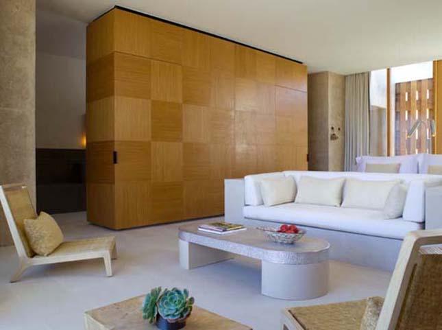 Luxus hotel a sivatag közepén