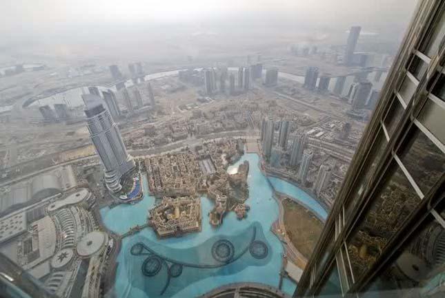 Luxusétterem a világ legmagasabb épületében