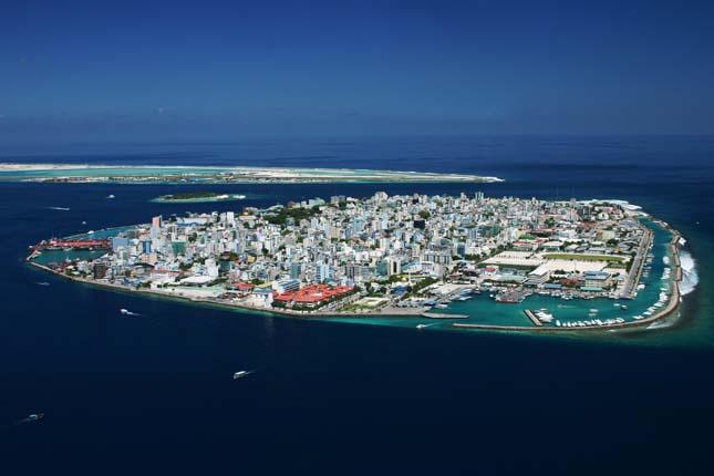 Malé, a Maldív-szigetek fővárosa