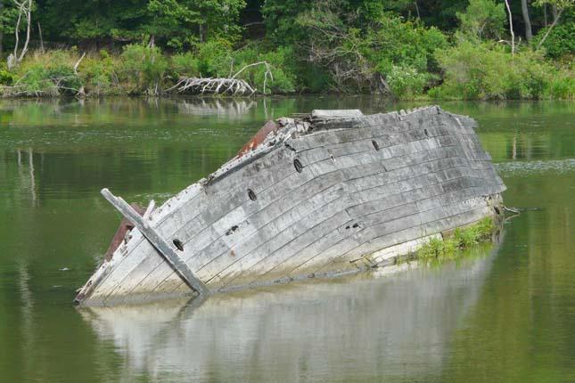 Hajótemető a Mallows-öbölben