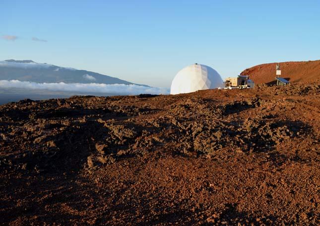 Mars-szimuláció