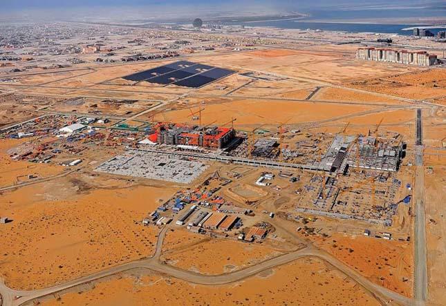 Masdar, épül a világ legnagyobb ökovárosa