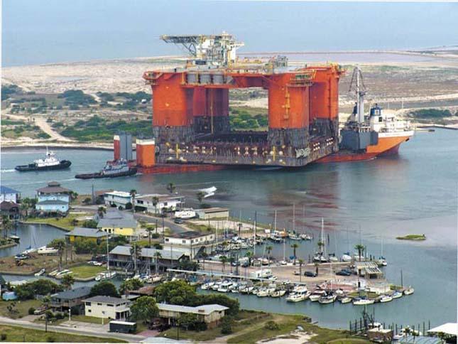 Masszív hajórakományok és azokat szállító hajók