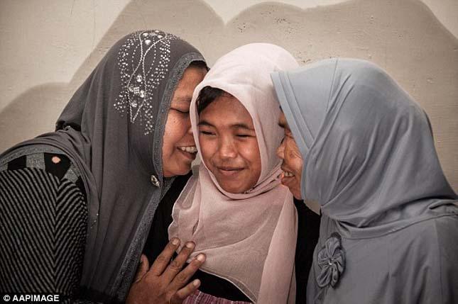 10 évvel a földrengés után találták meg lányukat