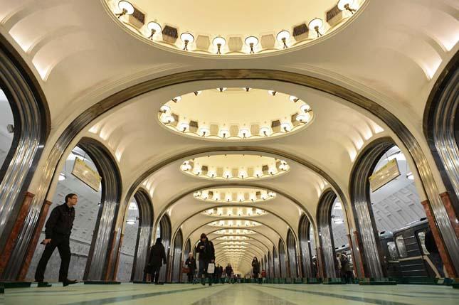 Európa legszebb metróállomásai
