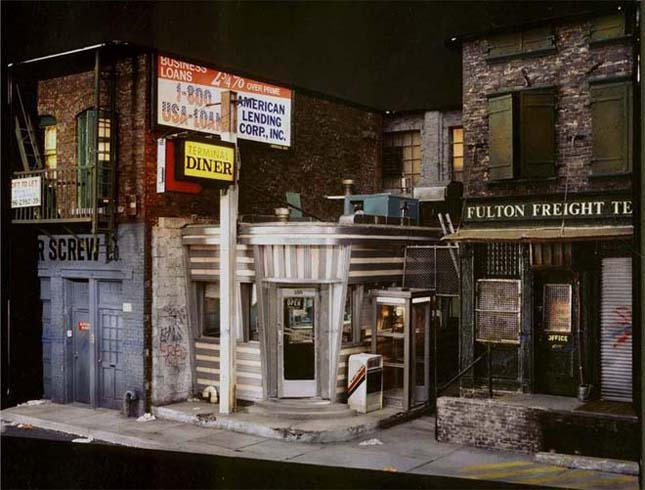 Alan Wolfson miniatűr épületei