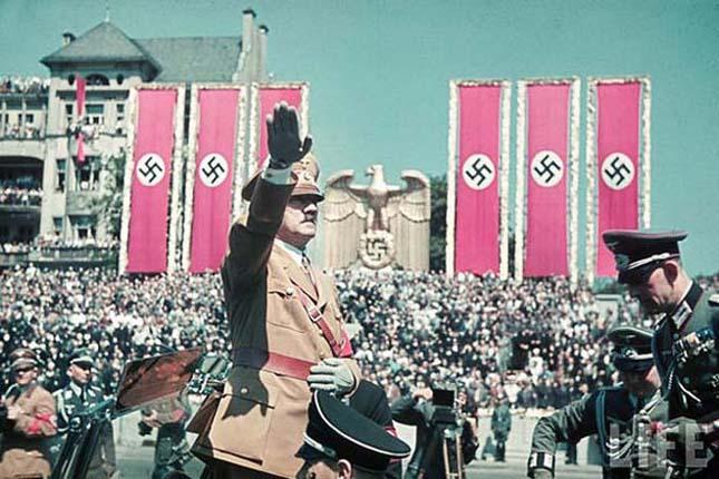 Németországn a náci diktatúra idején