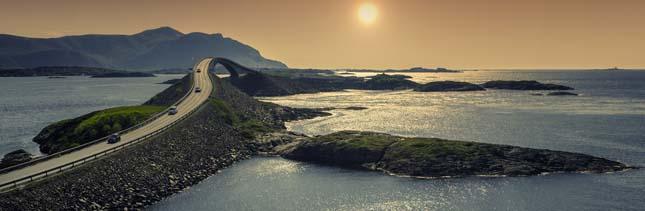 Norvég tájak