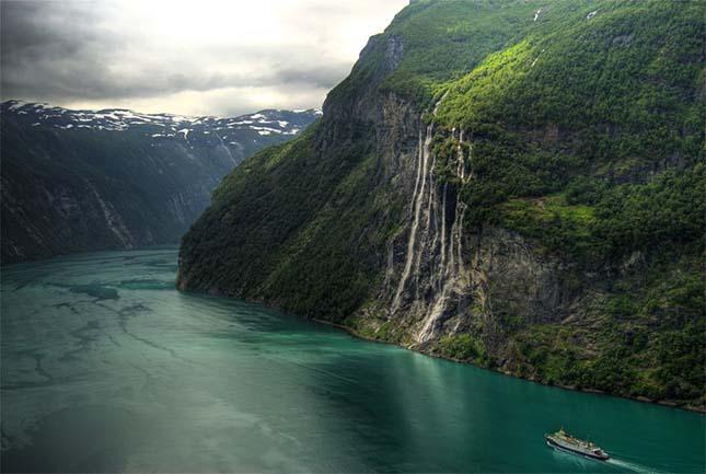 Norvégiai vízesés