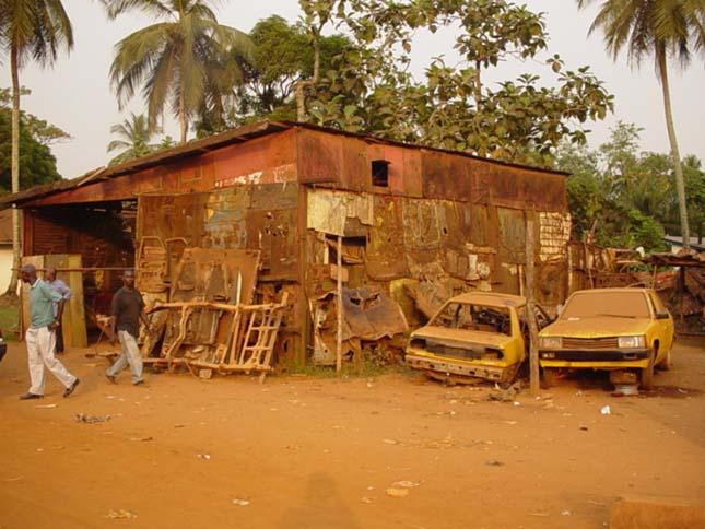 Utazás Nyugat-Afrikában