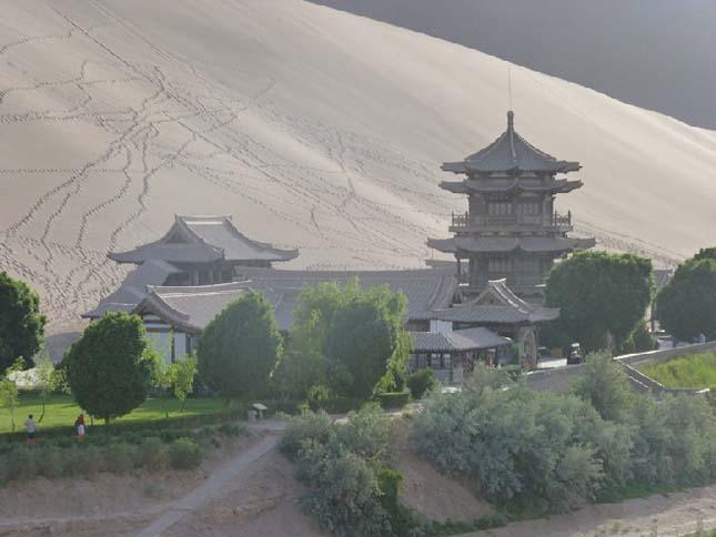 Oázis Kínában