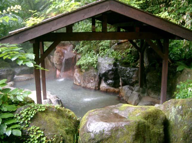 Vulkanikus gyógyfürdők Japánban