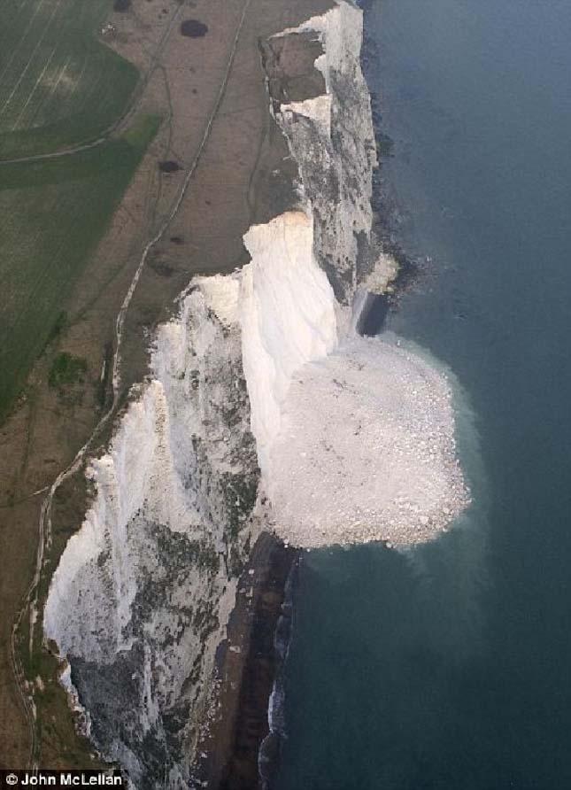 Beachy Head sziklaomlás