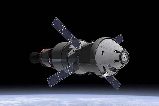 Új űrhajót fejleszt a NASA, Orion-űrhajó