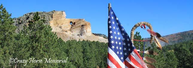 Crazy Horse Memorial, az Őrült ló szobra