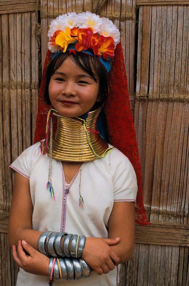 Padaung törzs