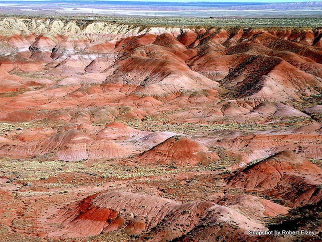Painted Desert, Festett-sivatag