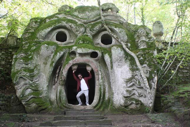 Szörnyek parkja, Olaszország