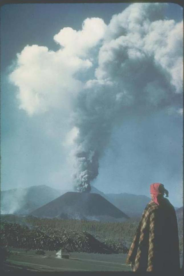 Parícutin vulkán, Mexikó