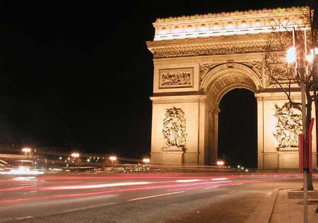 Arc de Triomphe, párizsi Diadalív