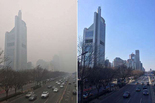 Pekingi szmog