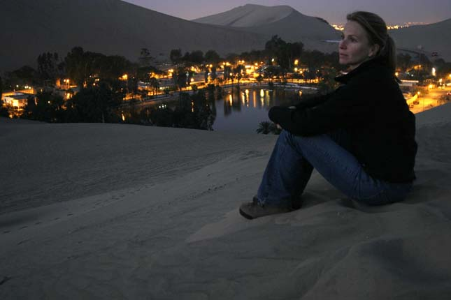 Huacachina oázis, Peru
