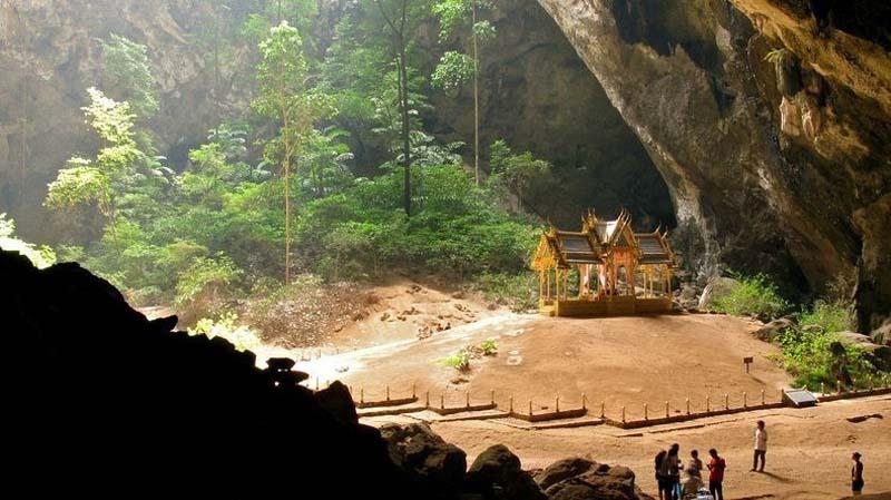Pharaya Nakon barlang, Thaiföld