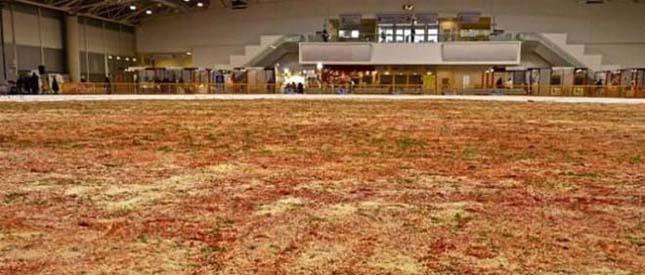 A világ legnagyobb pizzája