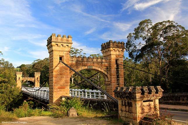 Hampden Suspension Bridge, Ausztrália