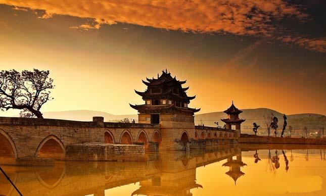 Shuanglong híd, Kína