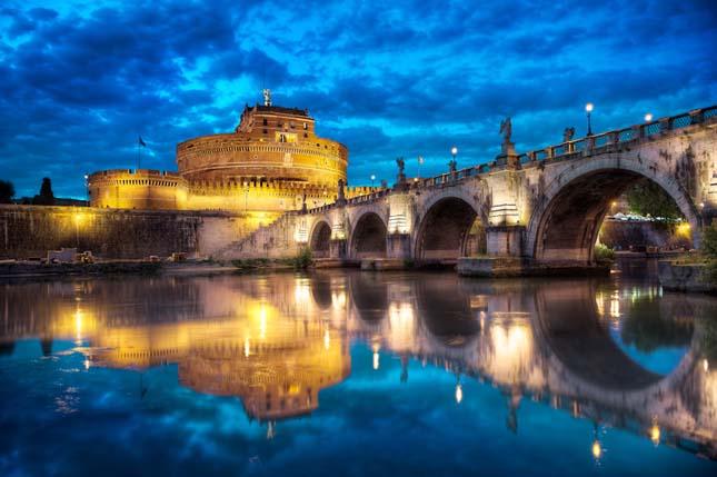Ponte San't Angelo, Róma, Olaszország