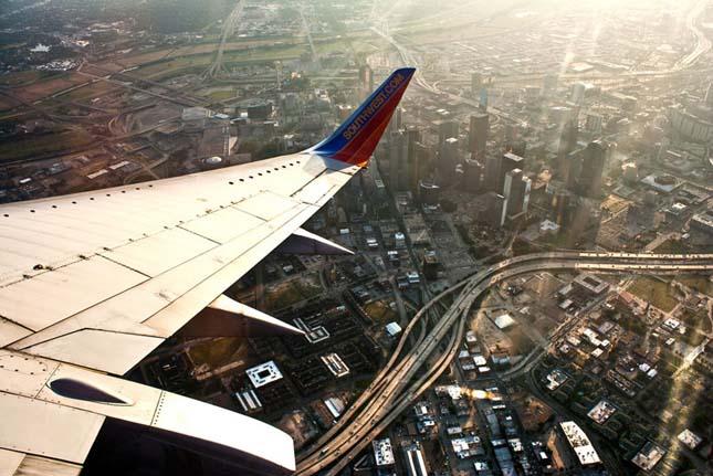 Repülőről készült képek